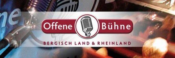Offene Bühne Bergisch Land & Rheinland
